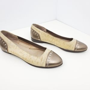 Aerosoles beige flats size 8.5M women shoes